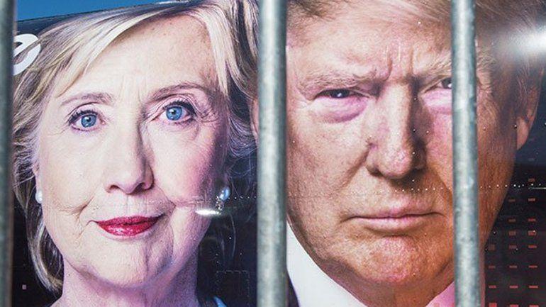 Esta noche, Trump y Hillary se verán las caras en el primer debate presidencial