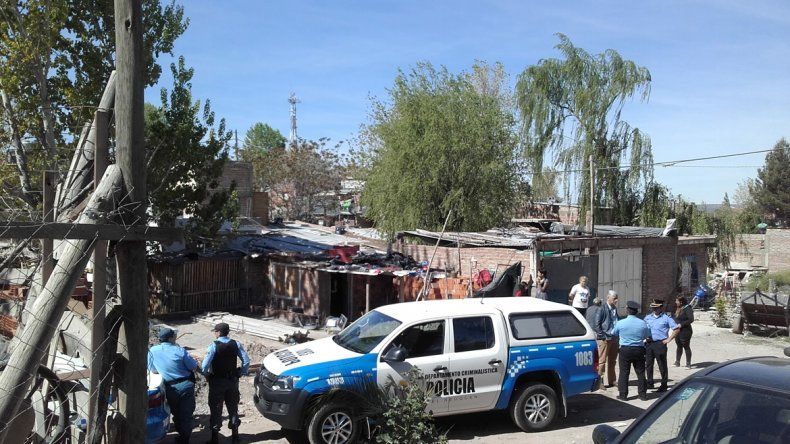 El domingo a la tarde varios móviles llegaron al barrio Cordón Colón.