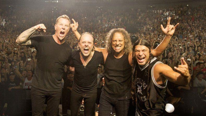 Revelaron la grilla del festival Lollapalooza 2017: viene Metallica