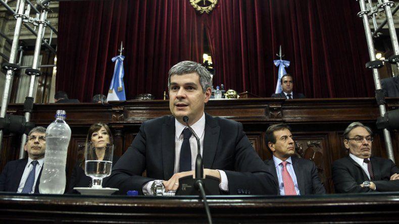 En el Senado, Peña destacó la baja gradual de la inflación