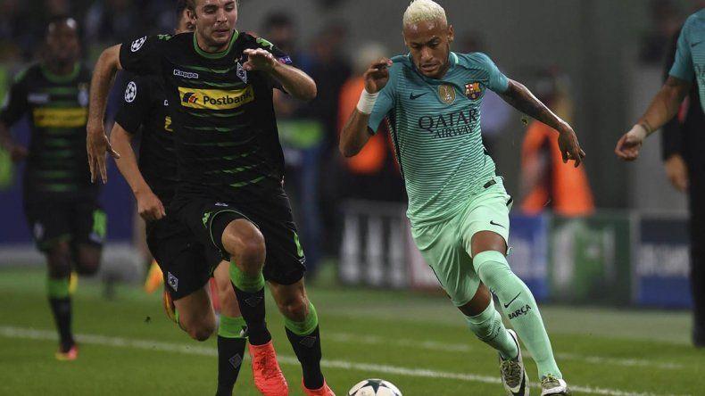 El Barcelona pudo remontar y superó al Borussia Mönchengladbach