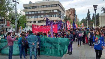 Convocan a una marcha en el centro por el aborto legal