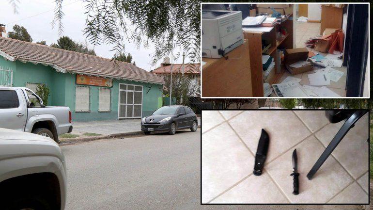 Relatos salvajes: entró al PAMI con un cuchillo e hirió a los empleados