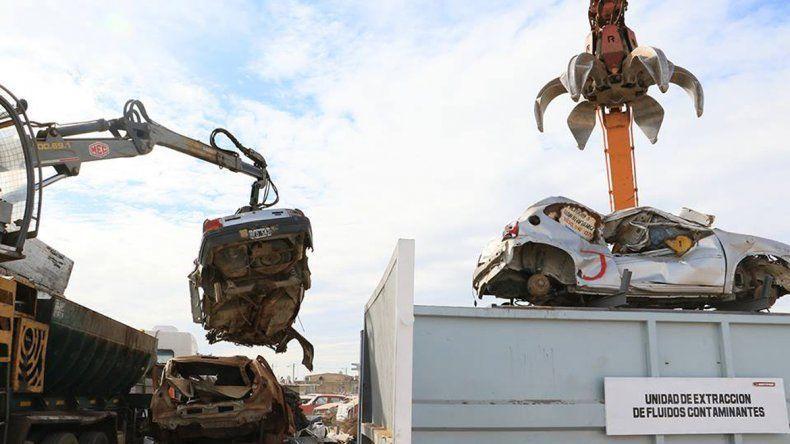 La máquina compactadora regresará a la ciudad en 45 días.