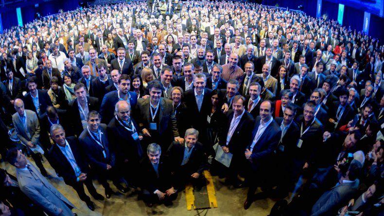 Macri reunió a 1872 intendentes en Tecnópolis