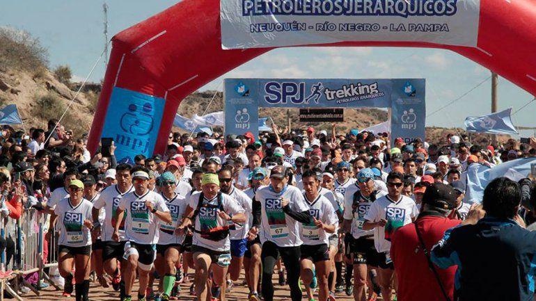 Correrán 1600 personas en el Trekking Petroleros Jerárquicos