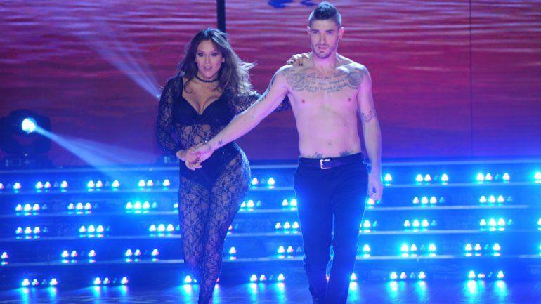 La bailarina se esguinzó el tobillo derecho y dejaría la pista.
