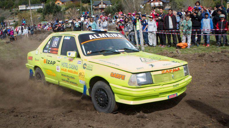 Los Almería picaron en punta en el rally del sur.