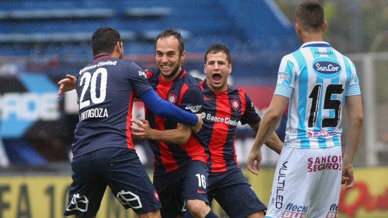 San Lorenzo sufrió pero venció 2 a 1 a Atlético Rafaela