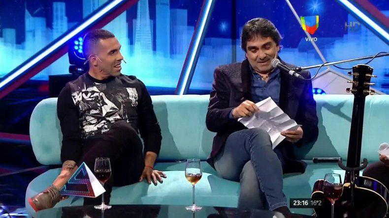 Carlos Tevez y Kike Teruel