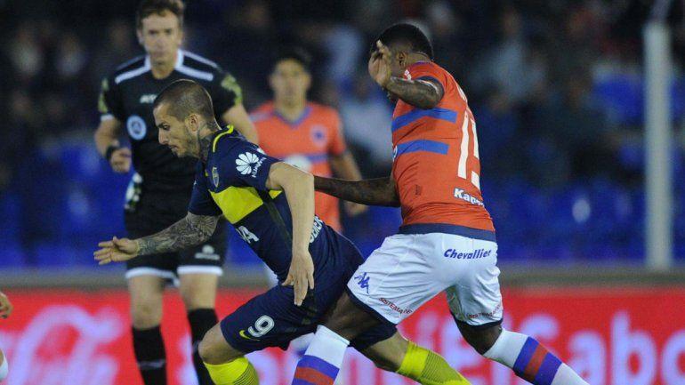 Boca empató 1 a 1 contra Tigre y se aleja de la punta