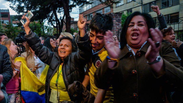 Sorpresivo resultado en Colombia. No: 50