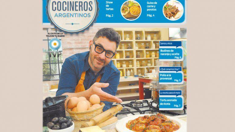 Los Cocineros Argentinos tienen recetas y sorpresas para vos