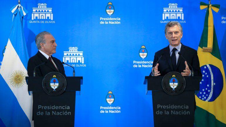 Argentina y Brasil respaldan la búsqueda de paz en Colombia