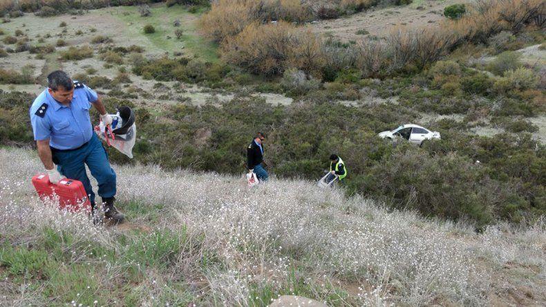 Accidente a unos 50 kilómetros de Junín de los Andes.