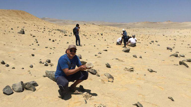 Los neuquinos tuvieron la posibilidad de visitar un desierto peruano que tiene una gran riqueza paleontológica.