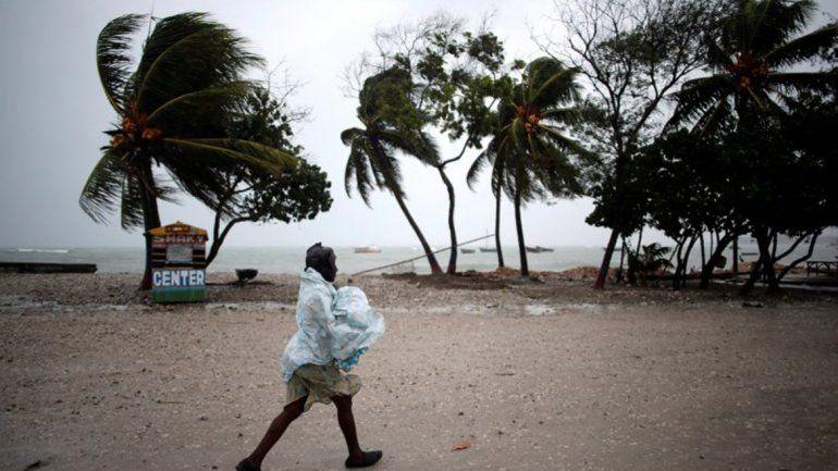 La República de Haití otra vez vuelve a ser muy afectada por el mal clima.