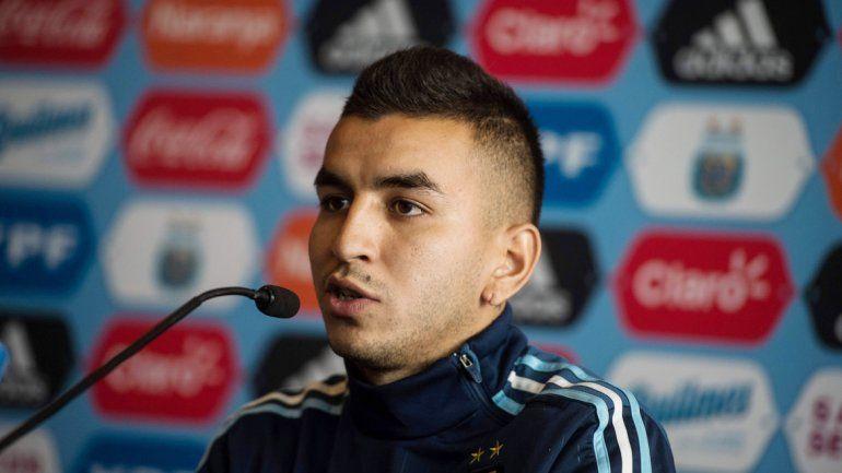 Correa es la alternativa del Patón en el lugar de Messi.