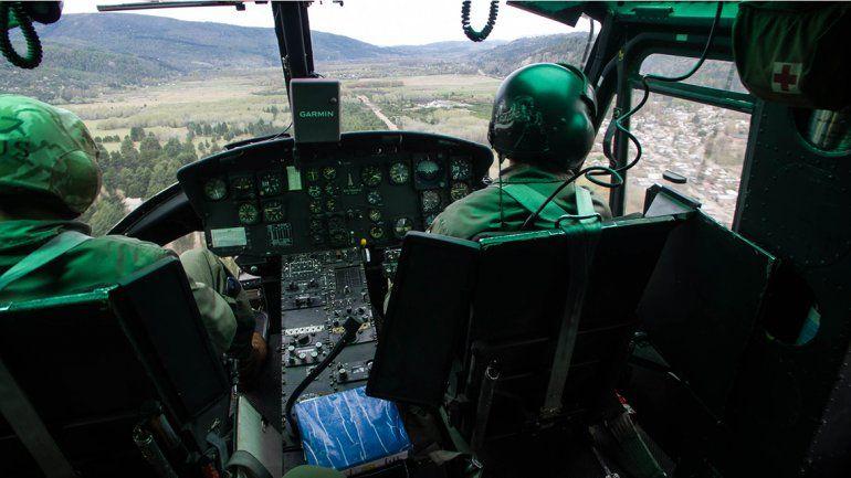 Ejercicio conjunto de los ejércitos de Argentina y Chile en San Martín