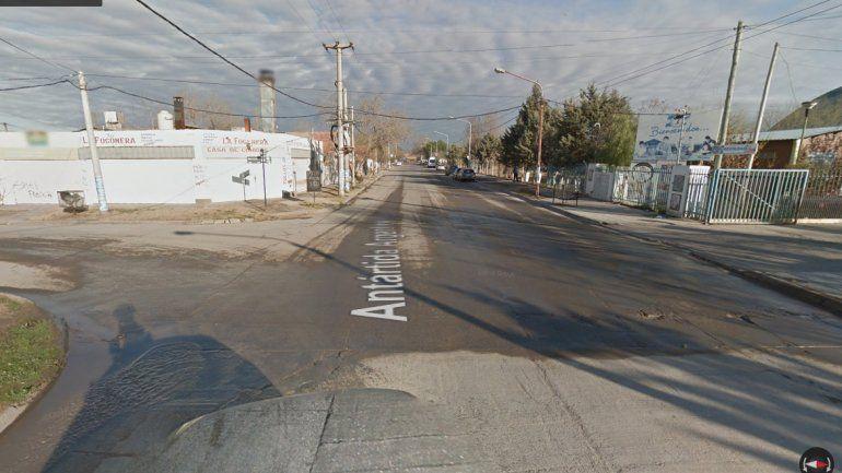 Salvaje entradera a una mujer en el barrio San Lorenzo Sur