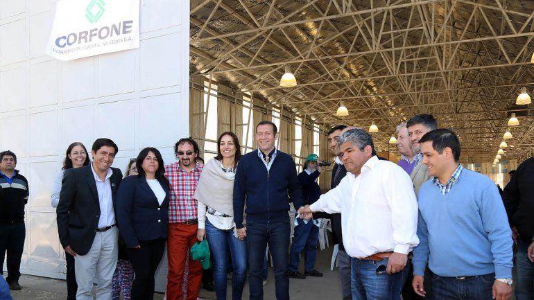 La Provincia invirtió otros 60 millones de pesos en el aserradero de Las Ovejas