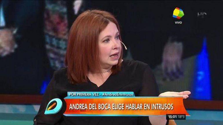 Andrea del Boca: Me dicen chorra, hija de puta, ladrona...