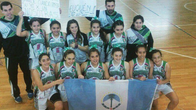 Las Guerreras de Neuquén se quedaron con el bronce en el Argentino