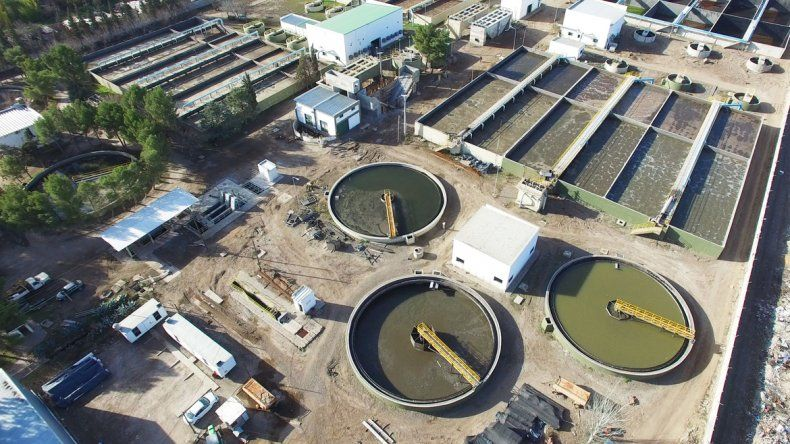 La planta Tronador perteneciente al EPAS.