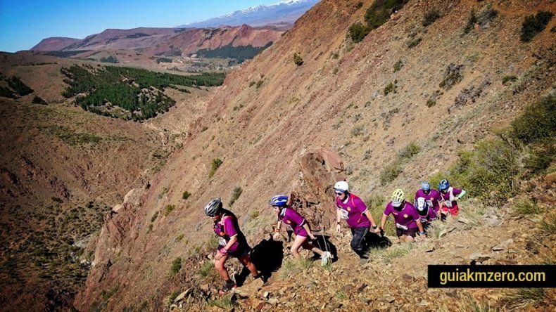 En Andacollo se corre el trail de montaña.