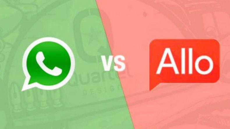 Conocé las diferencias entre Google Allo y WhatsApp