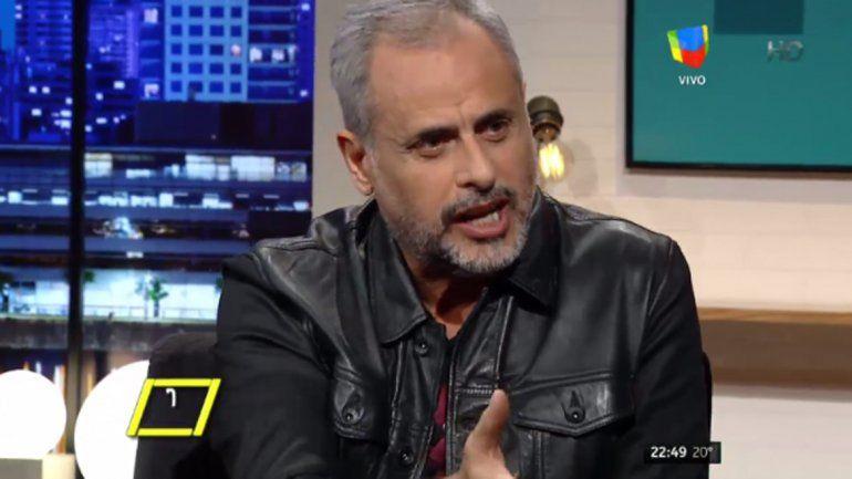 Jorge Rial le respondió a Jorge Lanata desde el living del late night show que conduce Luis Novaresio.