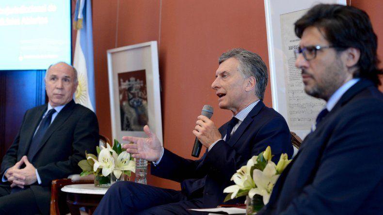 Macri presentó un portal de información judicial abierta