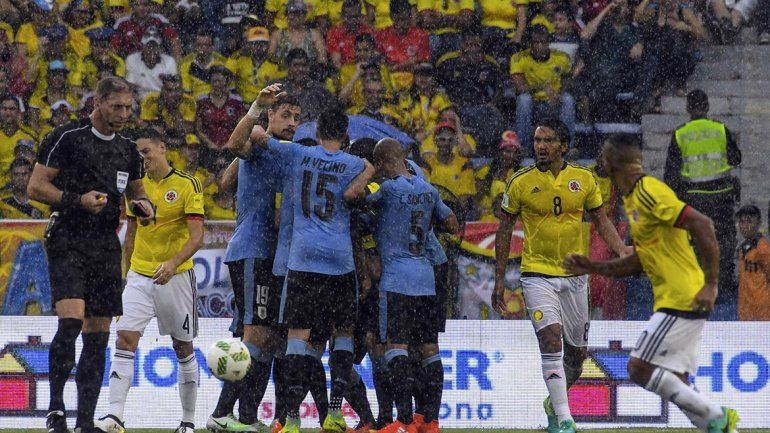 Colombia y Uruguay empataron 2 a 2 en Barranquilla