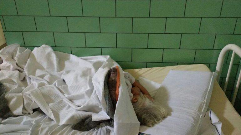 Mimí tiene 73 años y su salud es frágil. Hasta 1978 estaba en un psiquiátrico de La Plata y la llevaron a Pergamino
