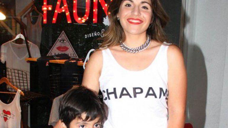 La diseñadora habló del mal momento de su hijo Benjamín Agüero.