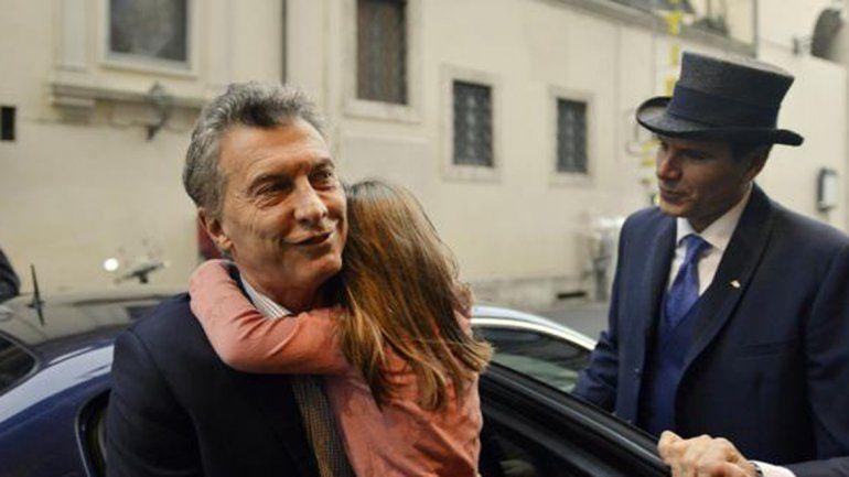 Macri llegó a Roma y mañana se reunirá con el Papa