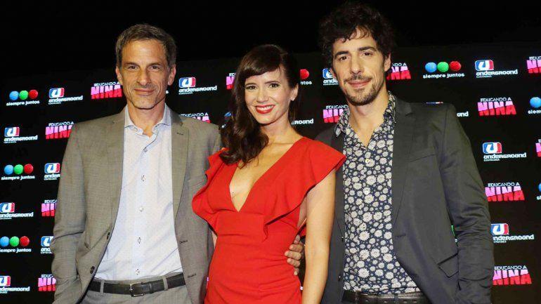Griselda Siciliani y Esteban Lamothe ya grabaron en Villa La Angostura