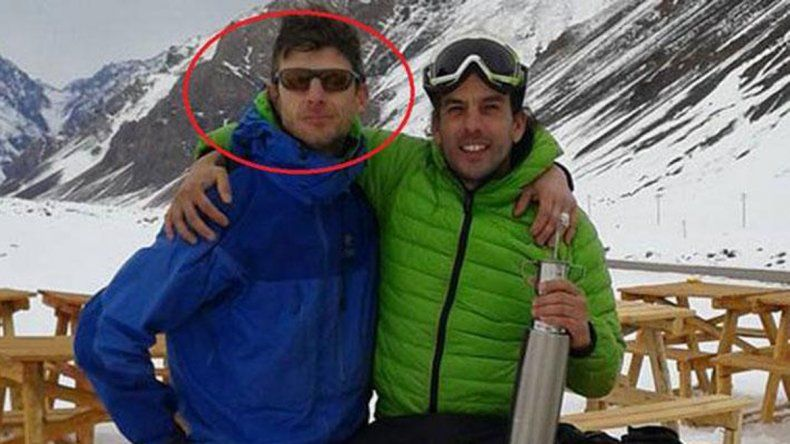 El cordobés Fernando Jofré tenía 35 años. Un compañero zafó de milagro.