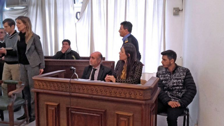 Alexis Martínez durante el juicio que se le siguió por un homicidio.