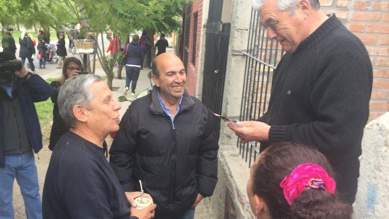 Pechi Quiroga encabezó un nuevo timbreo en Neuquén