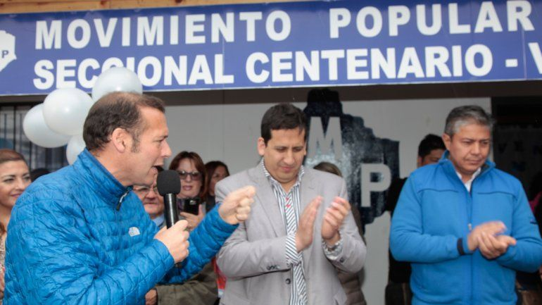 Gutiérrez pidió fortalecer el MPN para recuperar ciudades