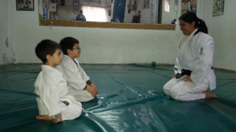 La ex judoca Nerea Salas