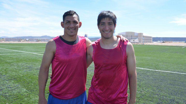 Alfredo Troncoso y Julio Ibáñez