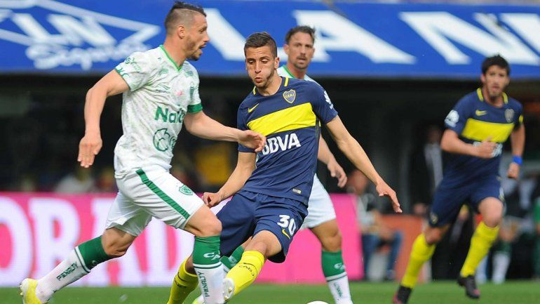 Con la vuelta de Tevez, Boca le ganó a Sarmiento en la Bombonera