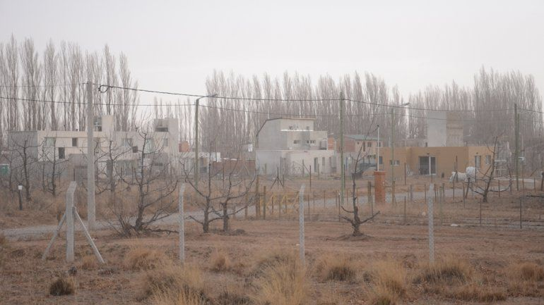 Las áreas afectadas por la maniobra del cabo eran la zona de chacras de China Muerta y el loteos Las Lilas.