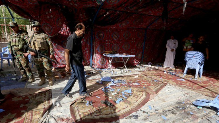 El ataque más sangriento fue en una festividad religiosa en un barrio chiita.