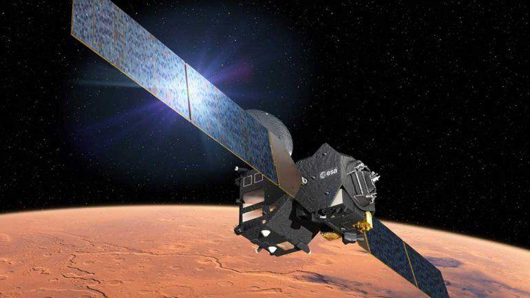 El miércoles llega esta misión conjunta al planeta rojo.