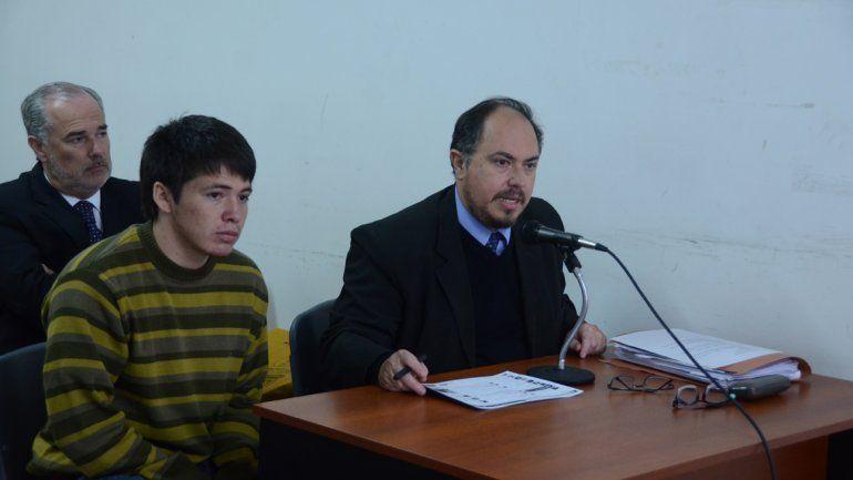 Facundo Quinteros Moscoso durante el juicio.