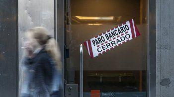 Un paro volverá a dejar sin bancos al país.