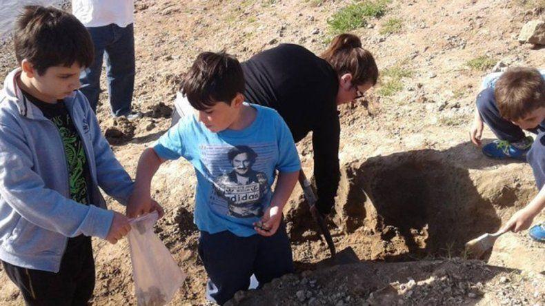 Lo encontró una vecina que había participado de un curso de arqueología.
